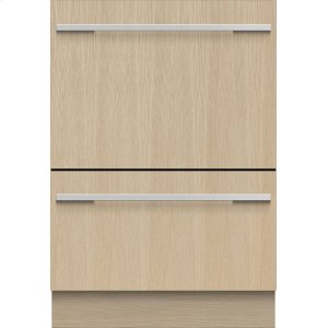 FISHER & PAYKELDouble DishDrawer , 14 Place Settings, Panel Ready (Tall)