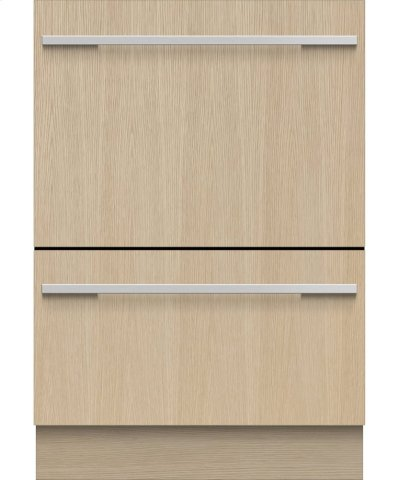 Double DishDrawer , 14 Place Settings, Panel Ready (Tall) Product Image