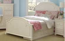 Charlotte Arched Panel Bed Full