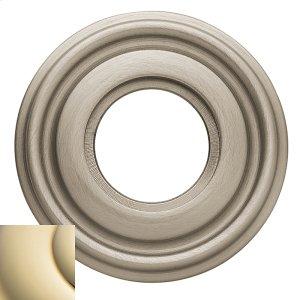 Lifetime Polished Brass 5010 Estate Rose Product Image