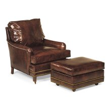 Bishop Reading Chair and Ottoman