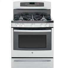 "GE Profile™ Series 30"" Free-Standing Self Clean Gas Range with Warming Drawer"