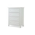 Academy - White Drawer Chest Product Image