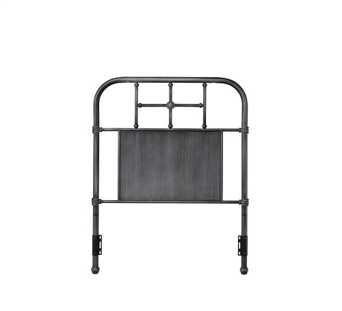 Cheriton Headboard - Twin, Antique Black Finish