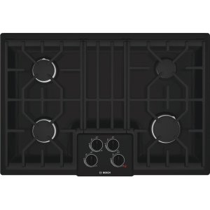"Bosch30"" Gas Cooktop 500 Series - Black NGM5064UC"