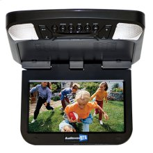 9 inch monitor with built-in DVD player (black finish)