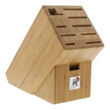 Miyabi Accessories 10-slot Bamboo Knife Block