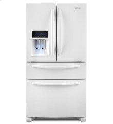 24 Cu. Ft. Standard-Depth Four Door French Door Refrigerator, Architect® Series II - White