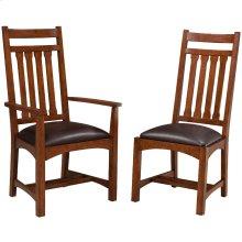 Oak Park Narrow Slat Arm Chair