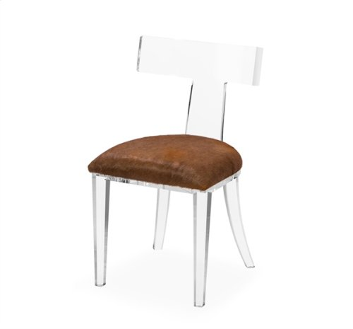 Tristan Klismos Chair - Coffee Hide