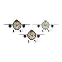 Quinton Vintage Plane Clocks - Ast 3