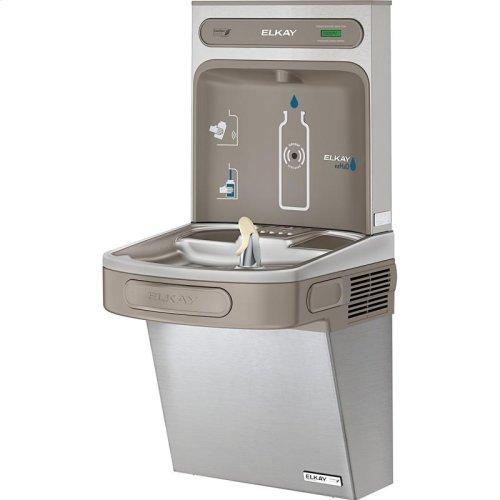Elkay EZH2O Bottle Filling Station & Single ADA Cooler, High Efficiency Non-Filtered 8 GPH Stainless