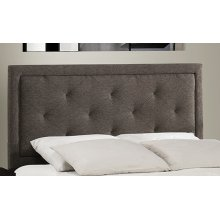 Becker Queen Headboard - Black Brown