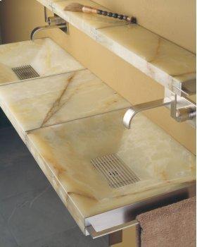 Sync System Rectangular Sink / Black Granite