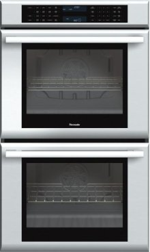 Masterpiece Series 30 inch Double Convection Wall Oven MED302ES - Stainless Steel