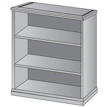 """Mendocino 3-shelf Bookcase/open Hutch, 49""""h"""