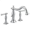 Quentin Deck-Mount Bathtub Faucet - Brushed Nickel