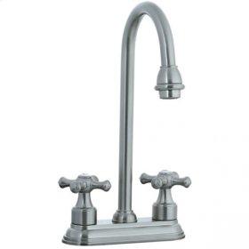 "Asbury - 4"" Centerset Bar Faucet - Polished Nickel"