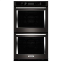 """30"""" Double Wall Oven with Even-Heat™ True Convection - Black Stainless"""