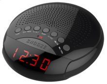 Am/fm LED Dual Alarm Clock Radio