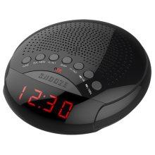 Am/fm LED Dual Alarm Clock Radio