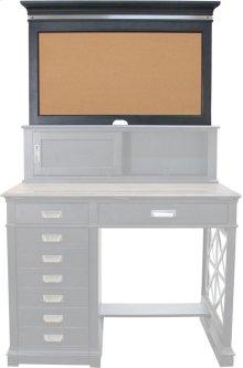 Architect's Desk Hutch Backpanel With Cork
