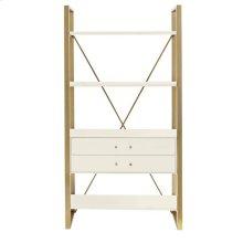 Latitude Bookcase - Saltbox White