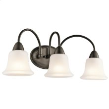 Nicholson Collection Nicholson 3 Light Bath Light OZ
