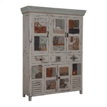 ARTIFACTS COLLAGE CABINET