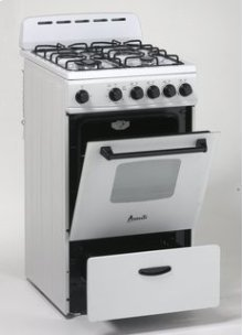 "Model GR2011CW - 20"" Gas Range"