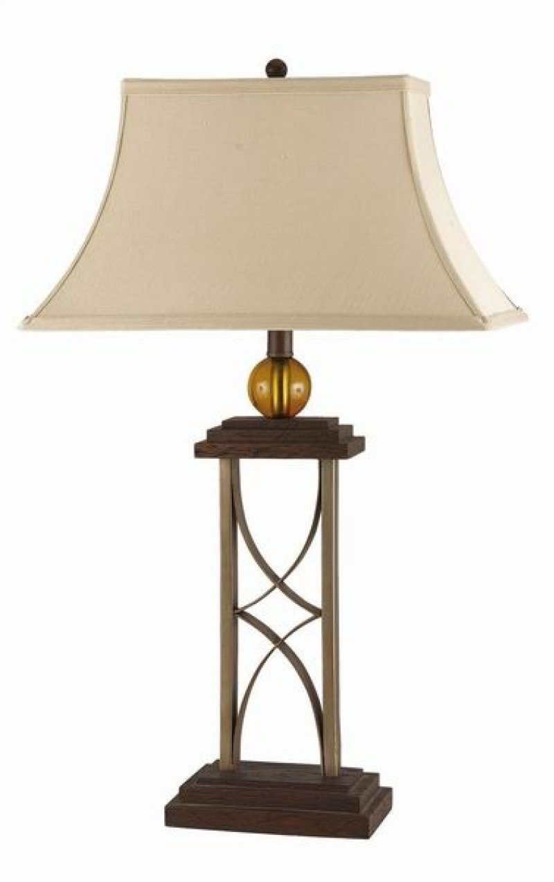 La643 in by cal lighting accessories in 100w on off push 100w on off push bottom base switch wrought ironresin table lamp geotapseo Images