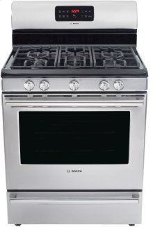 "30"" DLX Gas Freestanding Range 500 Series - Stainless Steel HGS5L53UC"