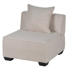 S/2 Armless Sectional & Pillow