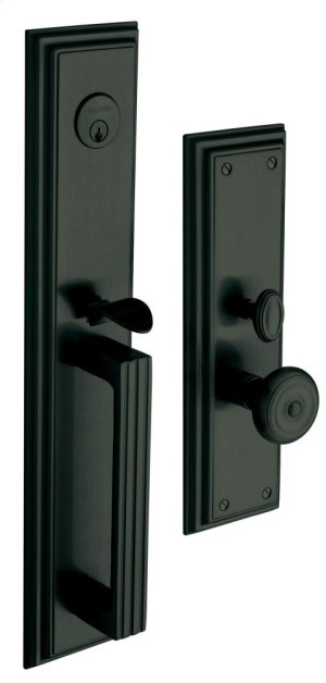 Satin Black Tremont Entrance Trim