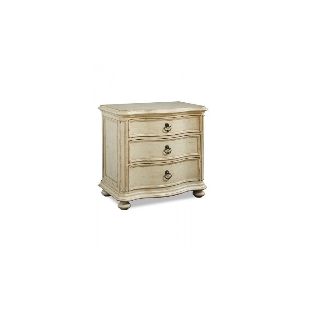 Provenance Drawer Nightstand with Bun Foot - Linen