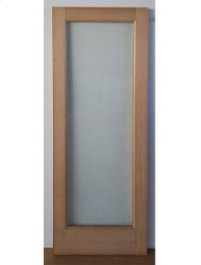 Cedar Glass Door 07 - Old Stock (CALL FOR FREIGHT QUOTE)