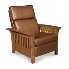 Grand Rapids Recliner, Leather Cushion Seat