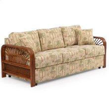 Loose Back Sofa Pecan Glaze 983S