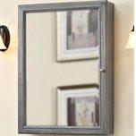 "FAIRMONT DESIGNSRustic Chic 22"" Medicine Cabinet - Silvered Oak"