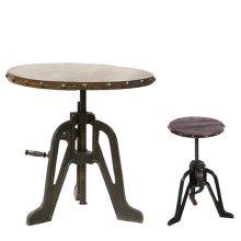 Iron Pub Table