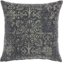 """Life Styles Gt657 Charcoal 22"""" X 22"""" Throw Pillows"""