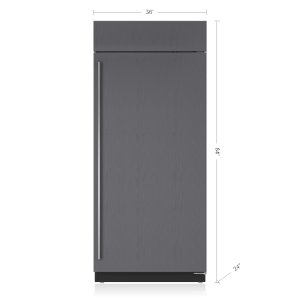 "Subzero36"" Classic Freezer - Panel Ready"