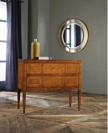 Milan Commode, Fruitwood W/ Inlay