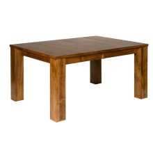 "Hartley Bay 42/60-2-12"" Large Block Leg Table"
