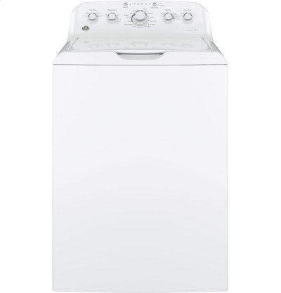 GE® 4.2 DOE cu. ft. Capacity Washer with Stainless Steel Basket Product Image