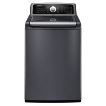 4.7 cu. ft. Large Capacity Front Load Washer (Stainless Platinum)