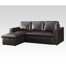 Sectional Sofa w/pull out bed