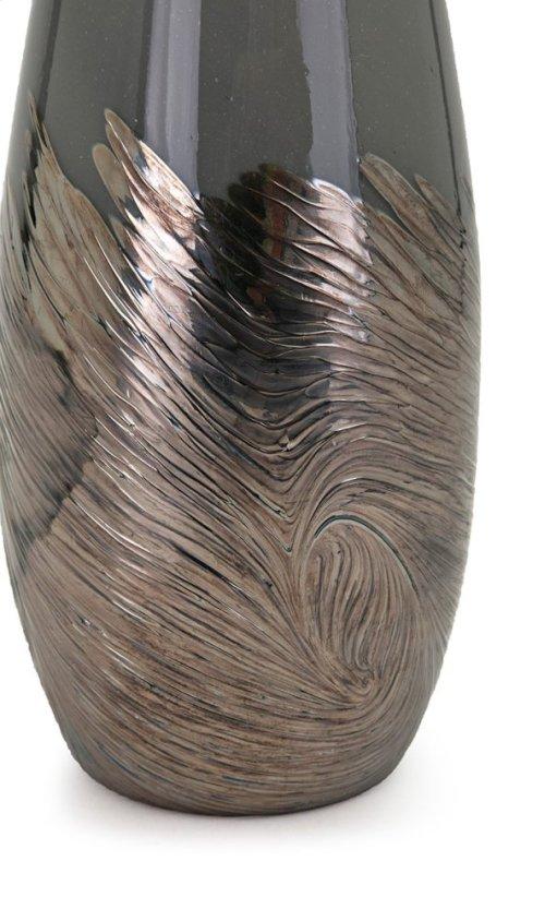 Montag Large Art Glass Bottle
