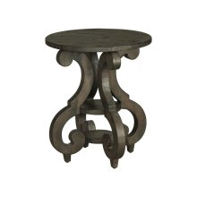Bellamy Round Accent End Table