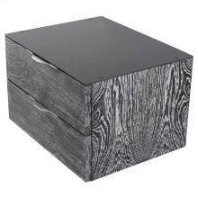 Drift Side Table  Black